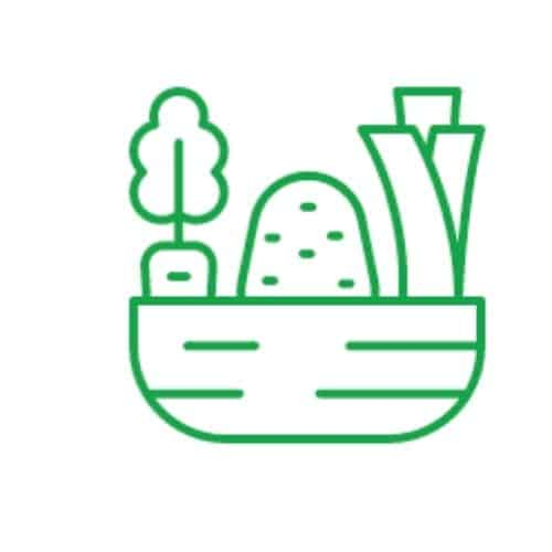 icon for collecting vegetables